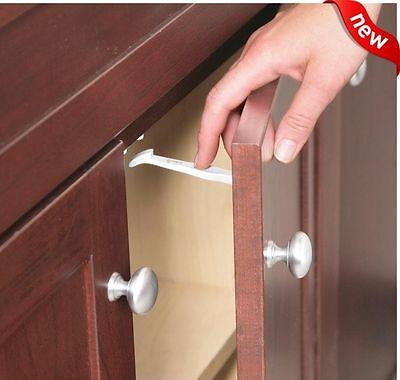 14 PIECE Safety 1st Baby Cabinet Locks Wide Grip Latches Child Kids Door Drawer