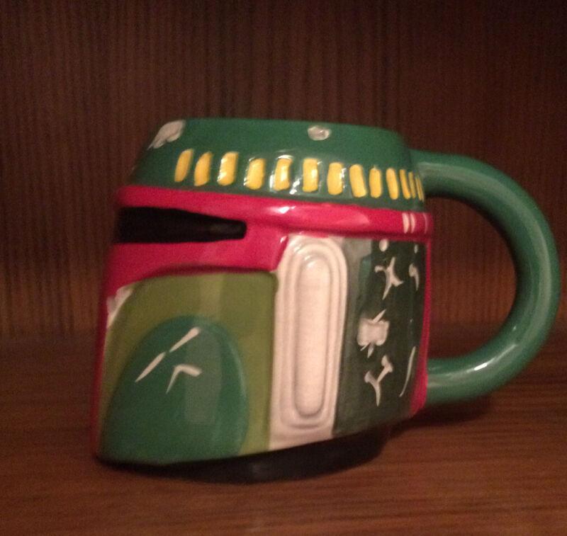 Boba Fett Coffee Mug | Star Wars | Empire Strikes Back | Disney Mandalorian |