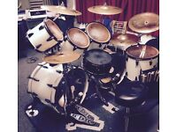 Drummer available for session/stand-in and lessons