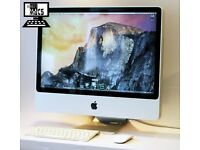 " Core 2 Duo 2.66Ghz 20"" Apple iMac 2gb 320GB HDD Final Cut Pro X Microsoft Office Suite 2016 "