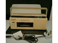 Morphy Richards radio cassette player