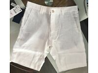 ZARA mens linen shorts wholesale clearance