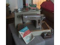 Genuine 1963 Singer sewing machine with all original accessories