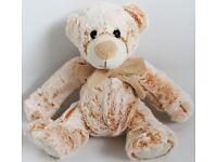 "New 10"" Teddy Bear Soft Toy / Plush with Bow"