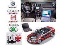 LATEST 15.7.0 VAGCOM HEX CAN USB VW AUDI SEAT SKODA OBD II CHECK KK AIRBAG FUALT DS150 2015