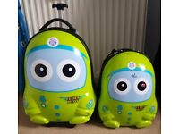 Cutie and pals childrens suitcase ans rucksack set.