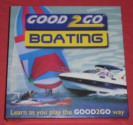 'Good 2 Go Boating' Board Game (new)