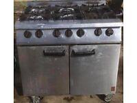 falcon dominator 6 ring burner gas cooker