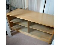 Free Side cabinet / TV unit with glass doors. String and heavy