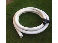 80mm Perforated land drain coil pipe approximately 13 metres plus junction piece