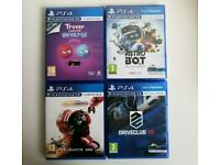 4 PS4 VR [PSVR] Bundle [Astro Bot, Driveclub, Trover, Star Wars Squadrons]