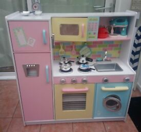 Child's Large Wooden Play Kitchen