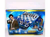 Dr Who _ chess set doctor who lenticular set new