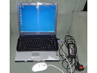 Laptop Sony BX195SP 15inch – Pentium 1.86GHZ- with external keyboard/mouse