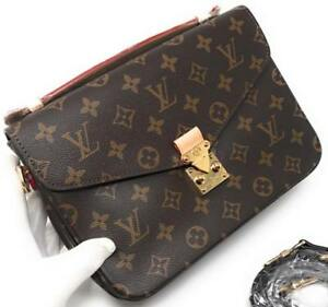 Louis Vuitton Metis Pochette Monogram Leather ( More Colors Brands Styles Available)