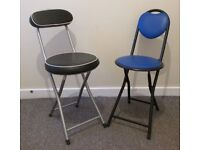 2 folding chairs camping garden spare chairs FREE DELIVERY WITHIN MY RANGE LE3