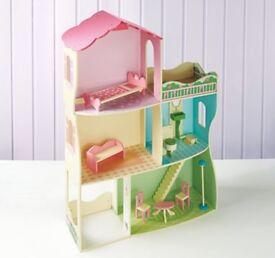 Girls dolls house £40