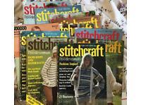 Stitchcraft knitting and crochet pattern vintage magazines