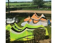 """Kitesurf kites for sale """"naish / RRD / north"""""""