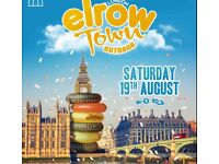 Elrow ticket 19th of Aug Olympic park London