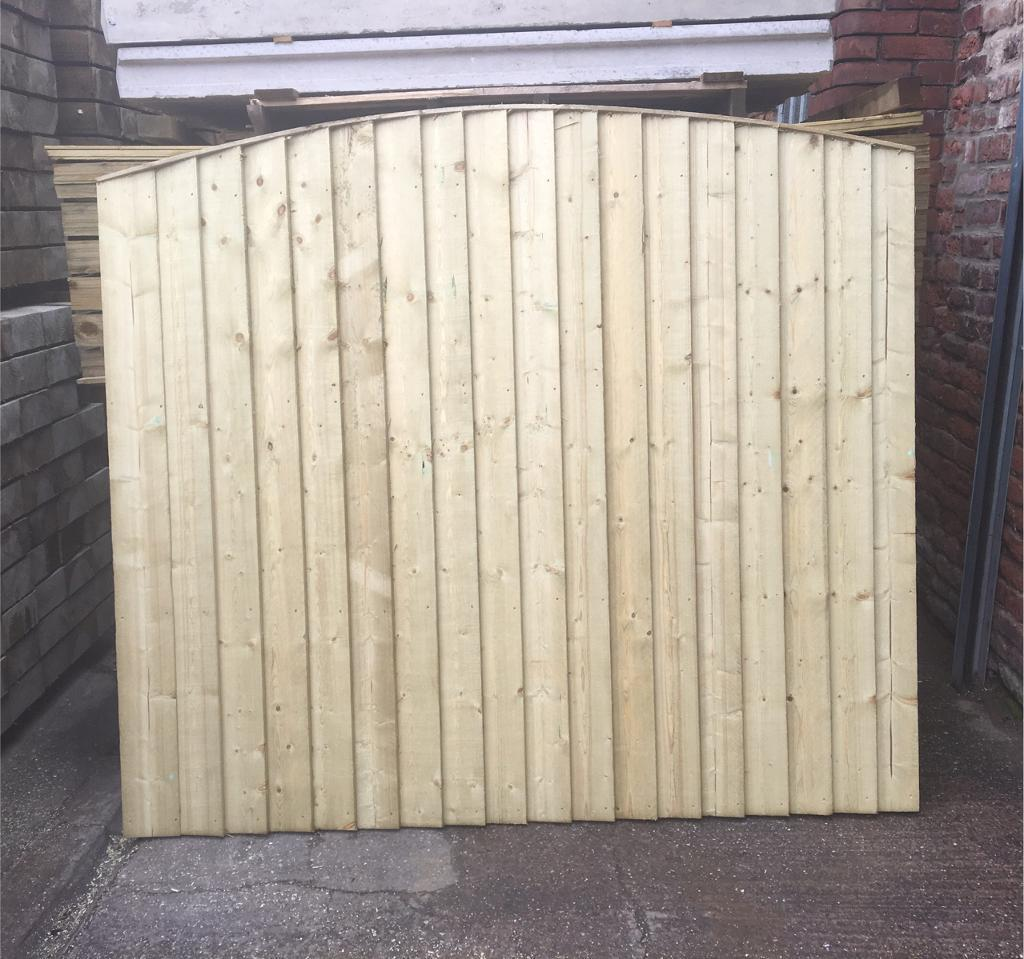 Arch top close board wooden fence panels in alderley edge arch top close board wooden fence panels baanklon Images