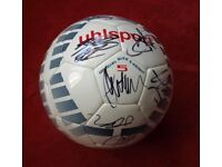 `C;LYDE FC SIGNED BALL FROM BARRY FERGUSON ERA