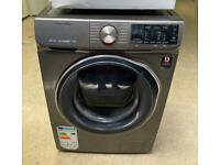 SAMSUNG addwash 9kg graphite washing machine 1400 spin £200 like new