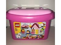 Lego Bricks & More Pink Bucket