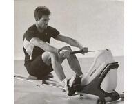 Top class rowing machine Kettler M Class (Row your own boat race!)