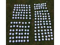 Various Golf Balls for Sale including Titleist, Callaway, Srixon Taylor Made Very Good Condition