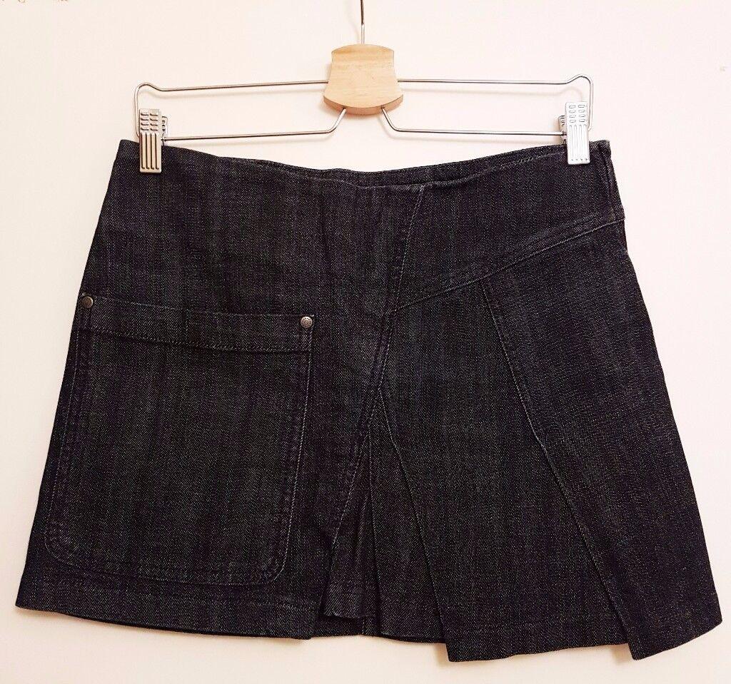 Women's Dark Blue Denim KOOKAI Skirt Size 10 (EU 38) *Perfect Condition