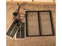 Exo Terra mesh lid & heat mats
