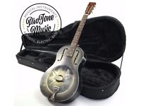 Michael Messer Blues Steel Body Resonator Relic Finish & Hard Case