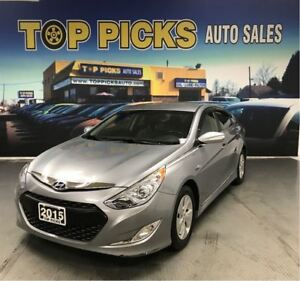 2015 Hyundai Sonata Hybrid LOW MILEAGE, Heated Seats, Back Up Ca