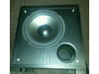 Mission sub subwoofer active M2sas high end home audio speaker