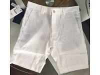 ZARA mens linen shorts wholesale clearance
