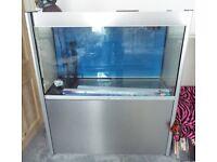 Juwel 370 ltr 80 gallon New oldstock marine aquarium sump tank T5 lighting freshwater
