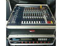 Soundcraft mfxi lexicorn 8 channel mixer bundle