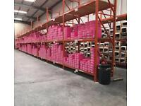 Industrial racking / shelving COLLECTION ONLY