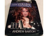 ANDREW BARTON HAIR PRODUCTS I LOVE VOLUME BEAUTIFUL TREATS FOR BIG HAIR SET - NEW UNUSED BOXED