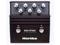 BASS GUITAR PEDAL –Hartke VXL Bass Attack Pedal