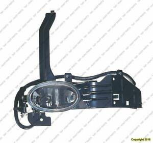 Fog Light Passenger Side Sedan 6-Cylinder High Quality Honda Accord 2008-2010