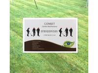 Comjet Garden Maintenance