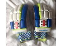 Gray Nicolls Left Handed Batting Gloves Youth Size. Mega XRD. Good Condition.