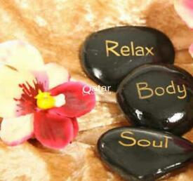 relaxation hot oil massage