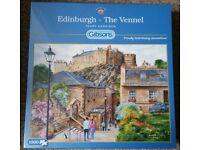 Gibsons Edinburgh - The Vennel 1000 piece jigsaw Puzzle