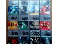 12 Doctor Who DVDs - all original releases in very good condition with booklets etc - only £25