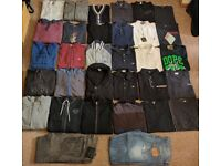 Genuine Mens Clothing Bundle- True Religion, Prada, D&G, Ralph Lauren, Armani, Hugo Boss, All Saints