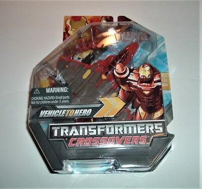 Marvel Transformers Crossovers Iron Man 2008 Action Factory Figure Sealed