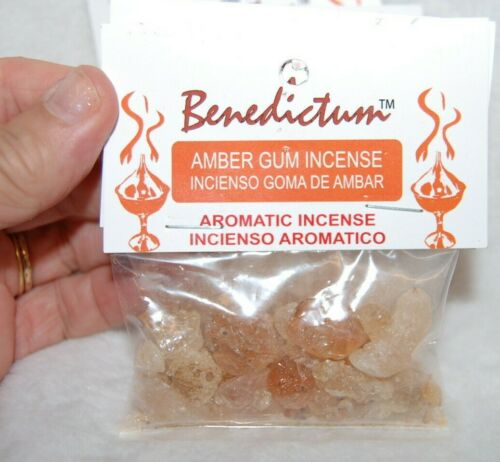 Amber Gum Incense Resin, Protection, Wisdom, Communicate with Ancients 21 Grams